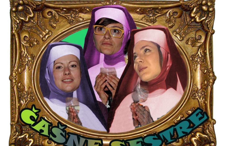 Čašne sestre in Gin wonderland
