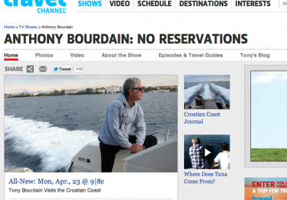 Follow the Steps of Anthony Bourdain in Croatia