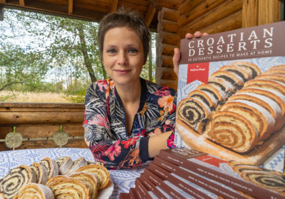 The first cookbook of Croatian desserts in English just released