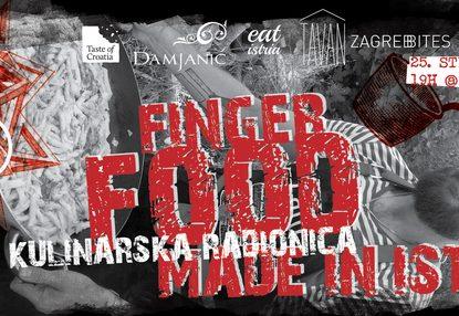 Scuola u Zagrebu, Finger food made in Istria
