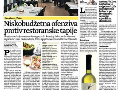 Recenzije restorana u Dobroj hrani Jutarnjeg lista